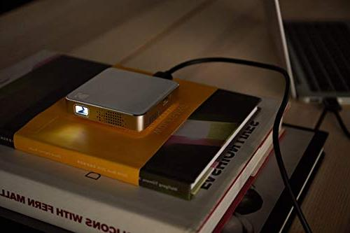 """Kodak Ultra Mini Projector LED DLP Projector 80"""" Display, Built-in - USB Micro SD – iPhone iPad, Android & Devices"""