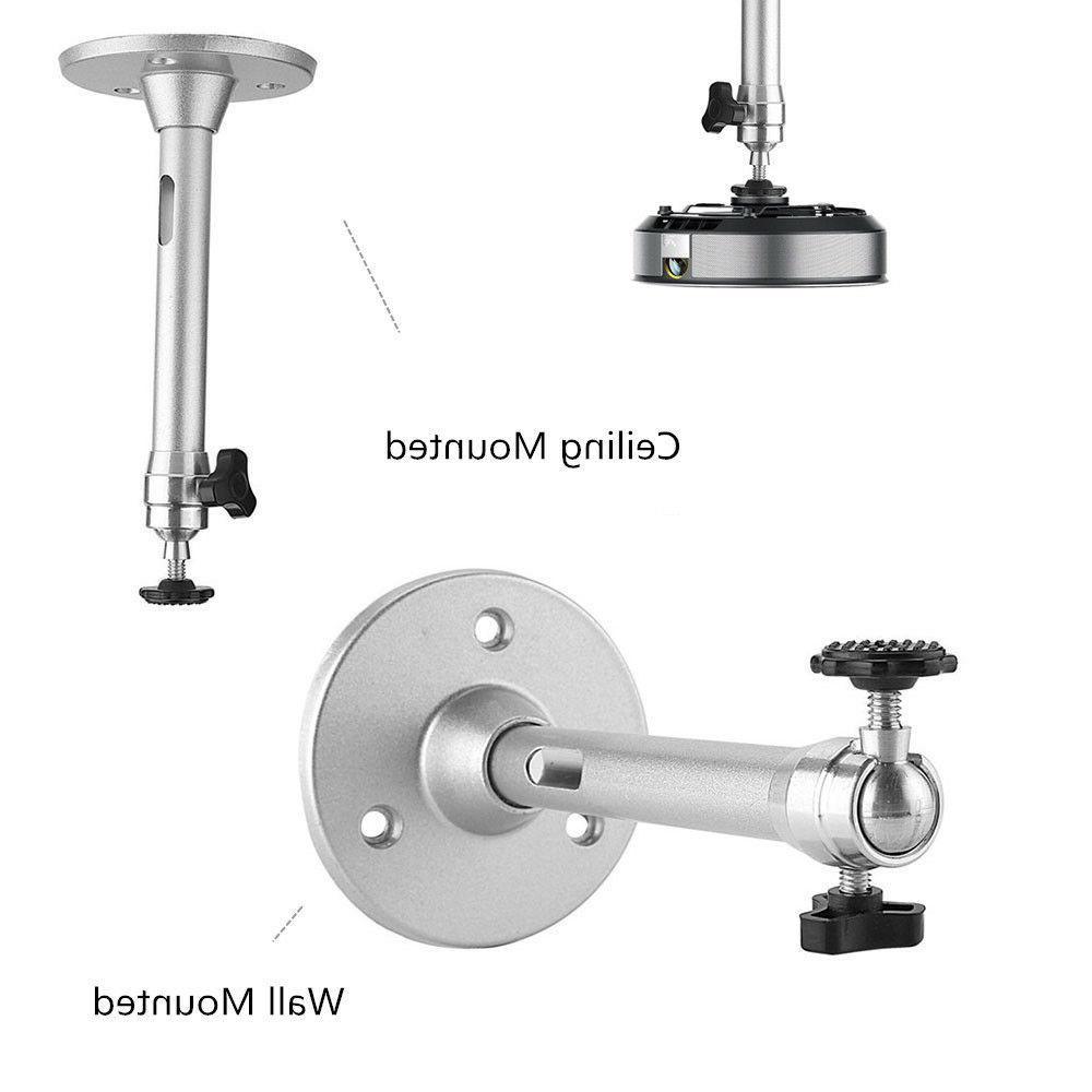 Universal Mini Projector Mount Bracket Aluminium