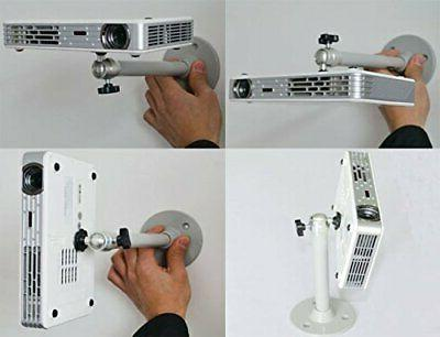 Mini Mounting Mini DLP Projector 360° Stand Ceiling