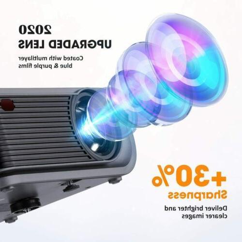 Upgraded Projector Tripod 720P Video HDMI/USB/SD