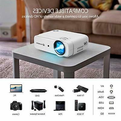 VANKYO Leisure Mini Video Projector with 50,000