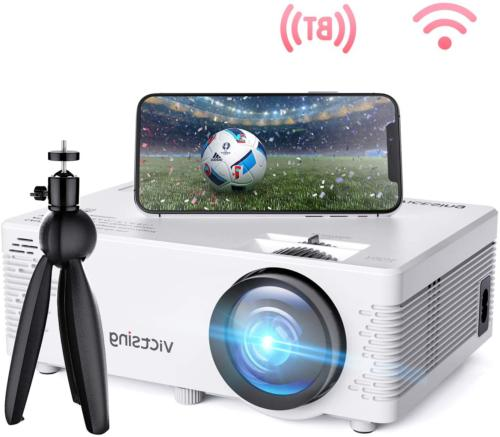 VicTsing WiFi Projector-4200L Wireless Bluetooth Mini Projec