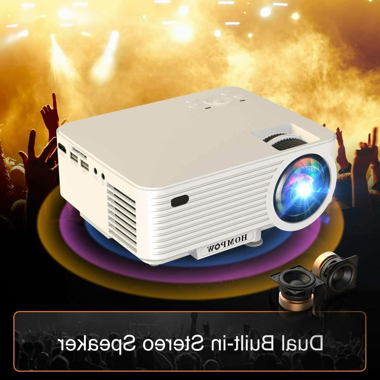 "Video Projector, Mini Projector 100"""