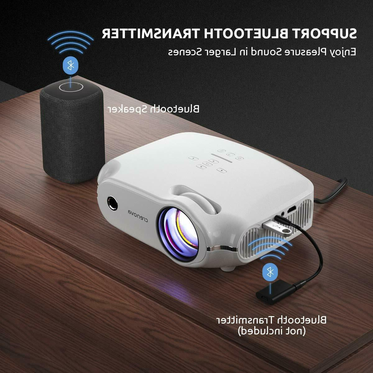 Video Crenova Mini Home Projector