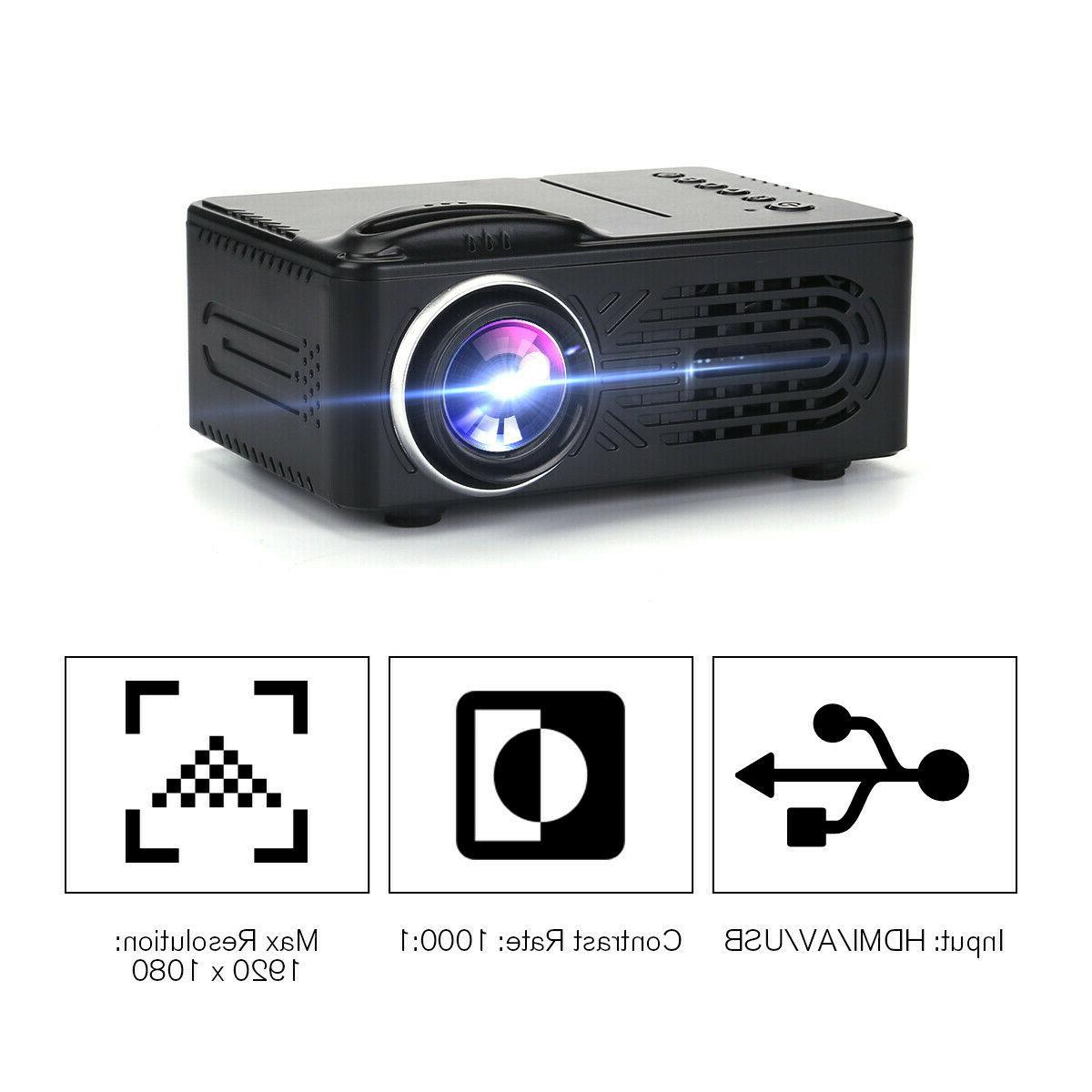 Portable 1080P Theater Movie Game 3D