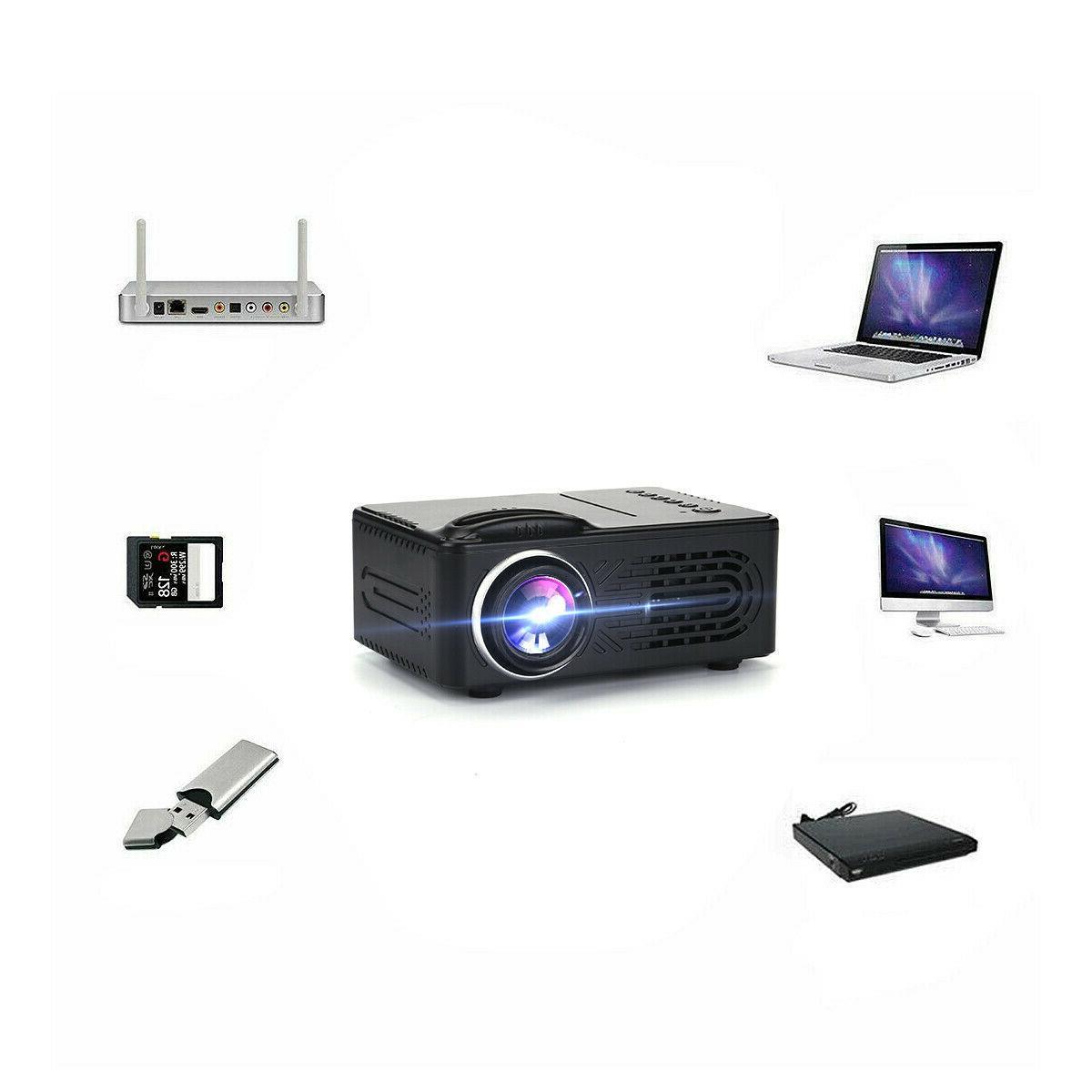 Portable 1080P Movie Game HDMI USB