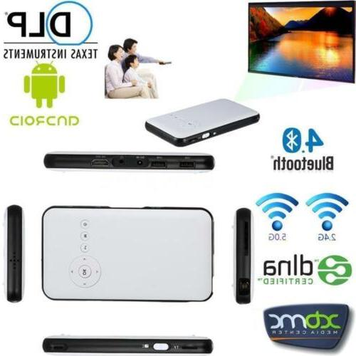 WiFi Mobile Cinema DLP TV F IOS PC BT4.0