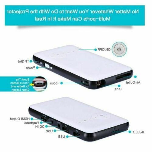 DLP WiFi 1080P Box For IOS Android Phone