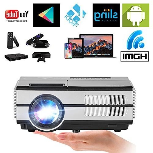 wireless mini projector lcd multimedia