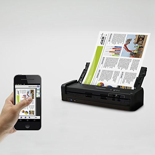 Epson ES-300W Color Portable Document with and