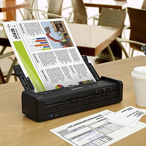 Epson ES-300W Color with PC and and Duplex Scanning