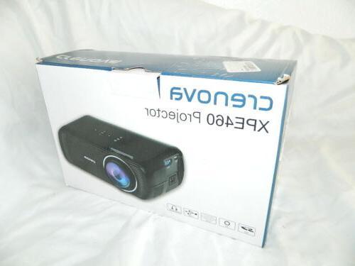Crenova XPE460 Home Projector NEW