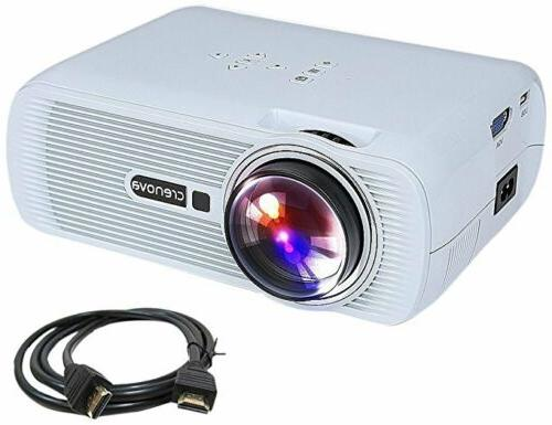 xpe460 led video home projector hdmi white