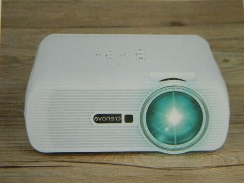 Crenova XPE460 Portable Mini Movie Projector Home Video