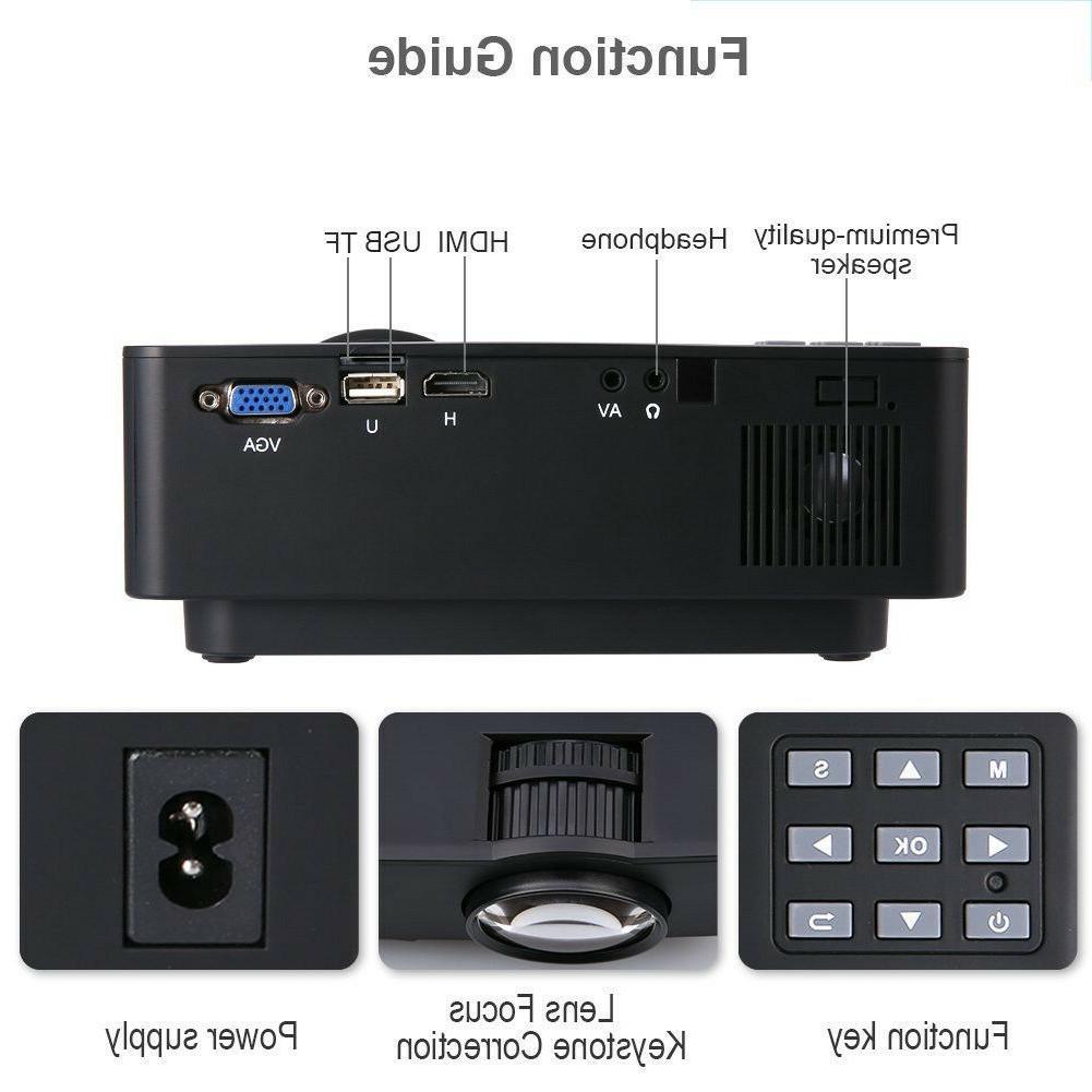 Crenova HD Portable Projector