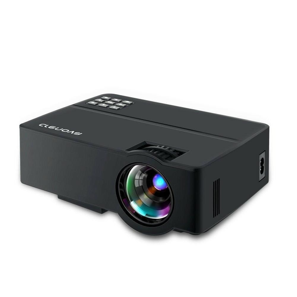 xpe490 hd mini portable video projector black