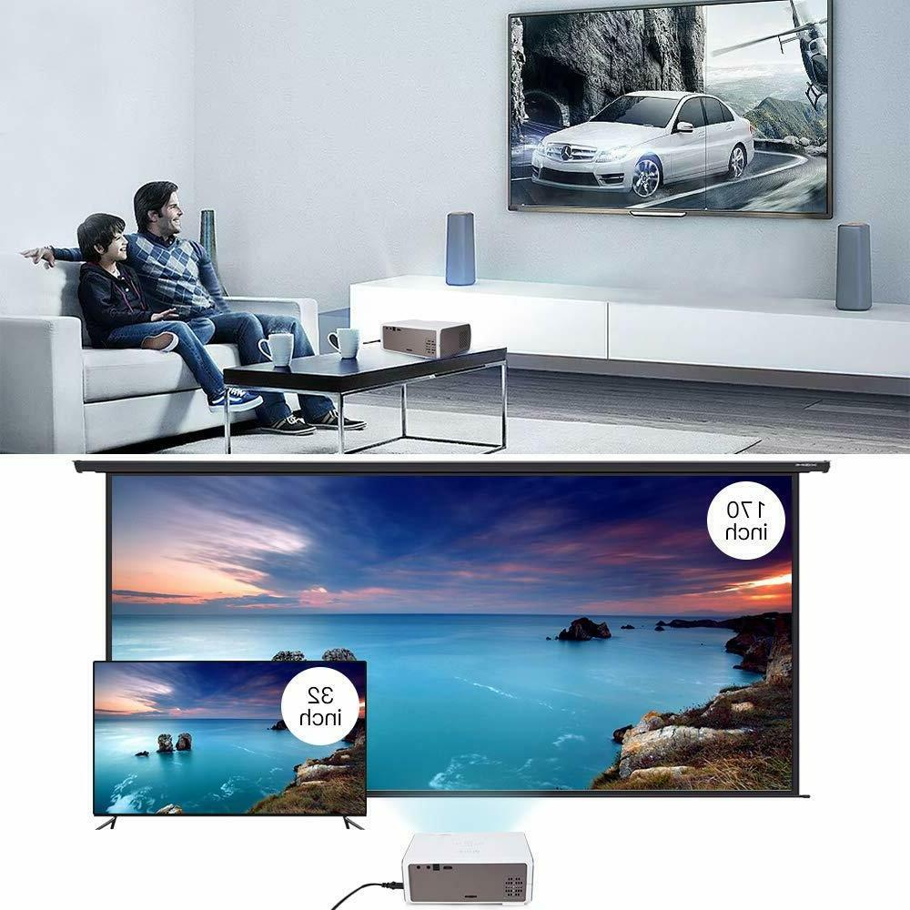 CRENOVA XPE496 Full HD and 170'' Supported