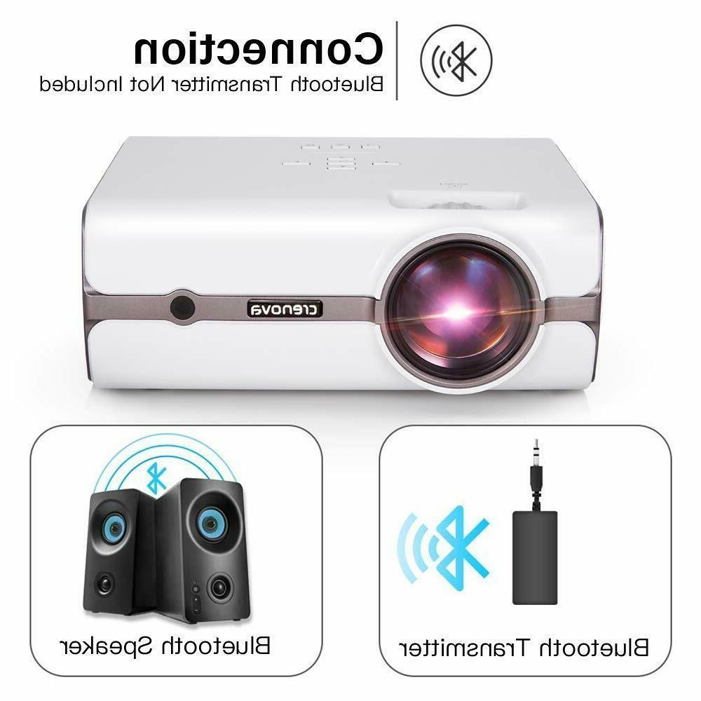 CRENOVA Mini Full HD 1080P 170'' Display