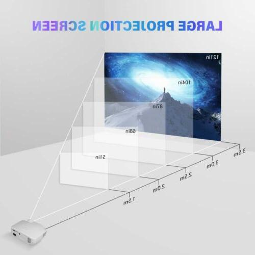 Crenova Projector Mini Portable Lumens 1080P Projector