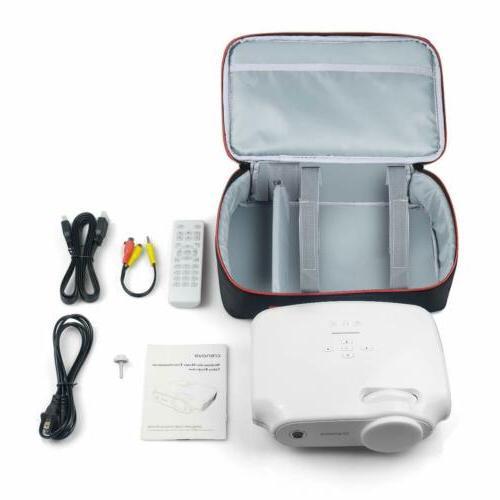 Crenova Projector Carrying Bag, Portable Travel Case Mini