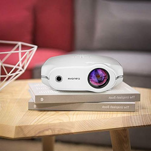 Crenova XPE498 Upgraded Projector 2018 – Projector – for Home Theater/Outdoor/Video