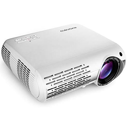 Crenova XPE660 Entertainment Full - 5,000 Lumens Vivid Native Images with Unmatched