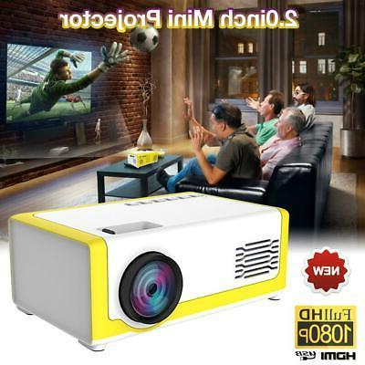 YG300 Projector 3D HD LED Cinema HDMI Projector