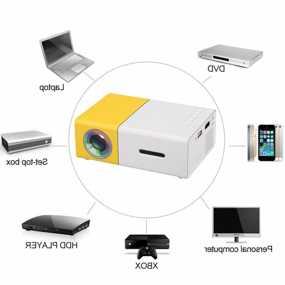 YG-300 LED HDMI Projector Li-battery Portable Media