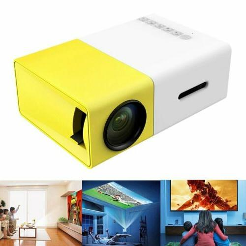 Multimedia Mini 1080P Full HD LED Projector Home Theater Cin