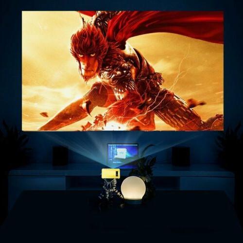 YG300 1080P Home Cinema USB AV SD LED Projector