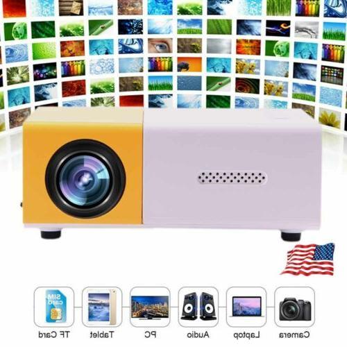 Mini Projector Home Theater HD 1080p Portable Intelligent Mu
