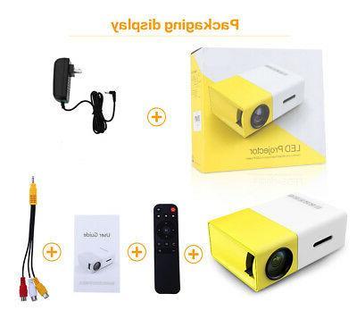 YG300 Home Theater Cinema USB AV LED