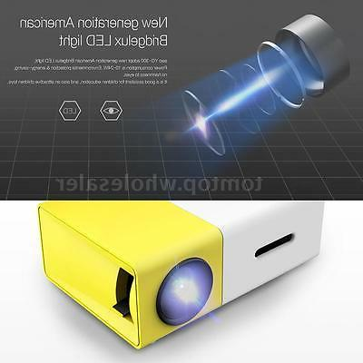 yg300 mini hd led projector home theater