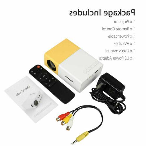 YG300 Mini Multimedia LED LCD Projector HDMI
