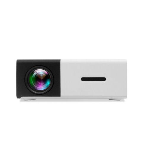 YG300 Mini Multimedia LCD Projector 1080P HDMI AV