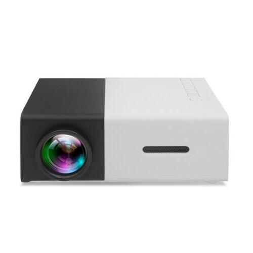 YG300 Mini LED LCD Projector Full 1080P Home Theater HDMI