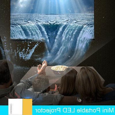 YG300 Projector USB HD AV Theater Laptop
