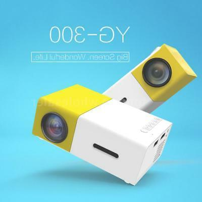 YG300 HD 1080P LED Home 3D
