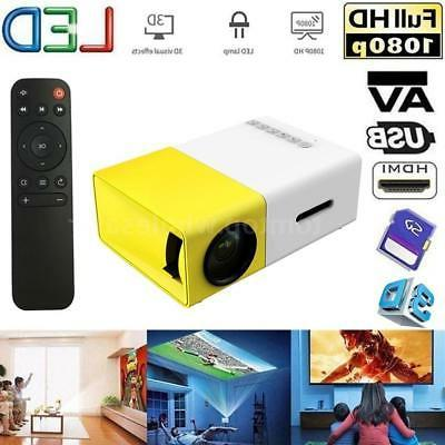 yg300 mini portable hd 1080p led projector