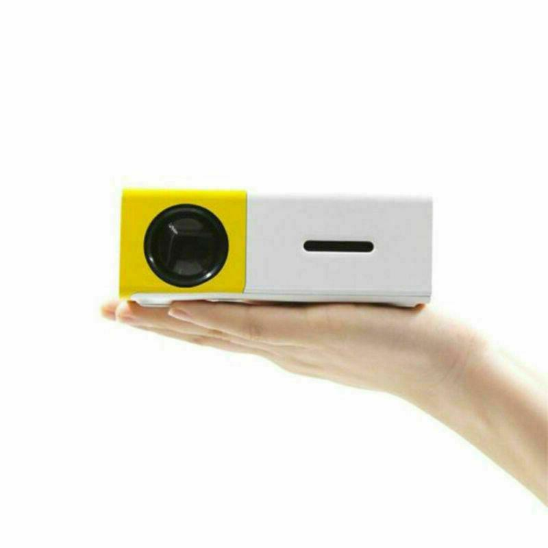 YG300 Mini LED Video Projector SD 24-60 inch