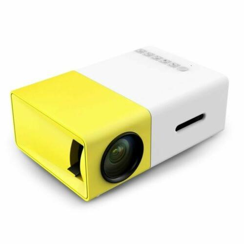 YG300 Multimedia LED LCD Projector HD 1080P Home Theater USB
