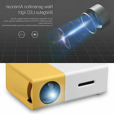 YG300 Portable LED Projector Full HD USB