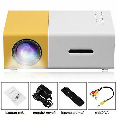 YG300 LED LCD Projector HD 1080P Home Theater USB