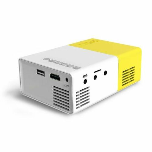 YG300 Portable Home HDMI AV SD Projector Video