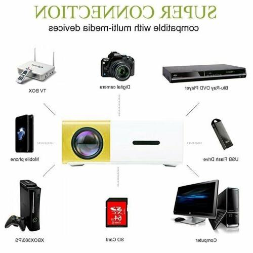YG300 Home Theater HDMI SD Projector Video