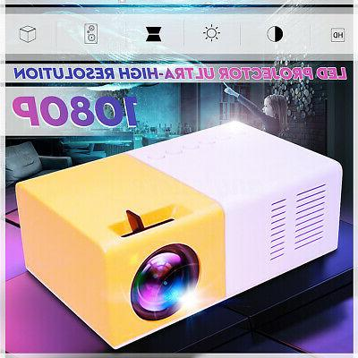 YG300 Portable Home Theater HDMI SD LED Projector