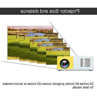 Home Theater USB HDMI AV SD Projector