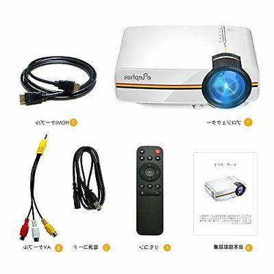 ELEPHAS Mini Video Projector 1080P Japan