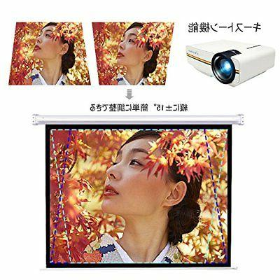 ELEPHAS YG400 Video Projector 1500 1080P Japan