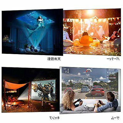 ELEPHAS Mini LED Video Projector 1500 1080P Japan f/s